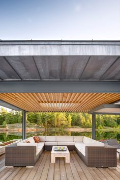 Blackened-timber Boathouse Completed By Weiss Architecture On A Canadian Island   Decor 10 Creative Home Design