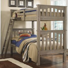 Highlands Twin Over Twin Harper Bunk Bed by NE Kids