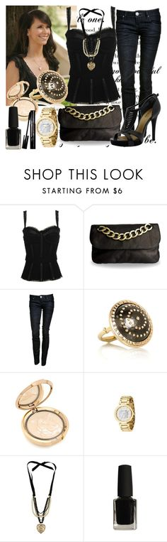 """""""Jennifer Love Hewitt"""" by cranber ❤ liked on Polyvore featuring Dolce&Gabbana, Linea Pelle, Charlotte Russe, GUESS, Philip Crangi, Chantecaille, Forever 21, Guerlain, piperlime and jennifer love hewitt"""
