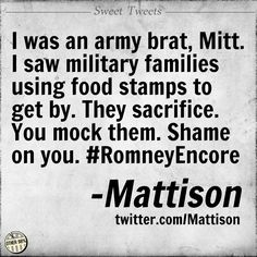Speaking as a Navy Junior and Marine -- ditto! This Lily liver ran away during Vietnam because he was too important. Wow!  We who volunteered blow you raspberries! #Mitt
