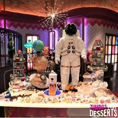 Get ready for a new season of other-wordly creations on Zumbo's Just Desserts Season 🚀🍬🚀 Netflix Channels, Zumbo's Just Desserts, Season 2, Astronaut