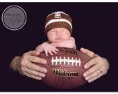 football- I'm thinking this is what my sister @ Abbey Wagoner should have done with her son. Too cute.