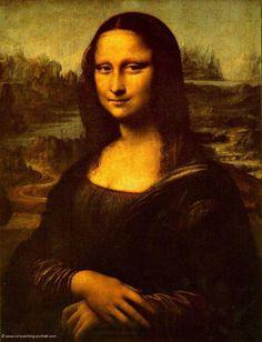 image of mona lisa | Mona Lisa - Bilder, Gemälde und Ölgemälde-Replikation