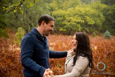 Fun in the rain- Arizona Engagement, Sedona, Foskett Creative #engagement #fall #Sedona