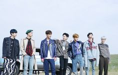 """Monsta X The 1st Album Repackage [SHINE FOREVER] MV Shooting Source: Starcast"""