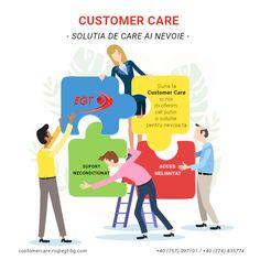 Orice problema are o rezolvare atunci cand suni la Customer Care! #egtromania #customercareteam #solutionfocused Orice, Memes, Meme