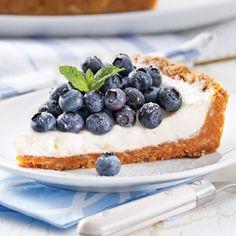 Tarte aux bleuets frais - Recettes - Cuisine et nutrition - Pratico Pratique
