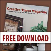 Arts and Crafts magazine full of sewing, painting, primitive, and inspiration! www.creativetimesmagazine.com