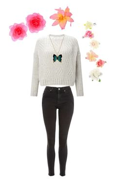 """""""Barnehage outfit 2"""" by pippahoel on Polyvore featuring Topshop and Miss Selfridge"""