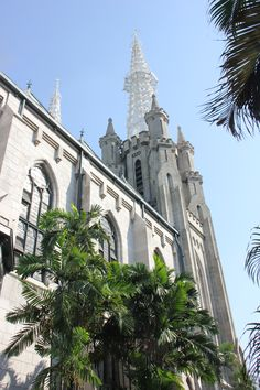 One of the most beautiful architectural buildings in Jakarta - Cathedral Catholic Church - stunning.