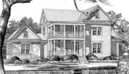 Riverbend farmhouse southern living house plan. This is beyond perfect! Talk about dream home! Wow!