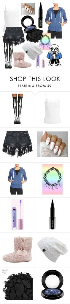 """Female Sans"" by dappershadow ❤ liked on Polyvore featuring Sans Souci, Gap, Lord & Berry, M&Co, Urban Decay and MAC Cosmetics"