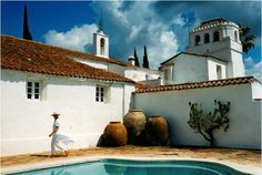 The delightful Trasierra Hotel, Seville Tuscan Style, Mediterranean Style, Spanish Colonial, Spanish Style, Palazzo, Space Architecture, Luxury Holidays, Luxury Villa, Outdoor Living