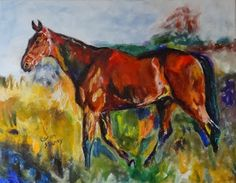 Fine Art By Caron: Patrick after Alfred Munnings