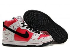 online store d26cb a1210 Womens Nike Dunk High Shoes - RedBeige - Wholesale  Outlet