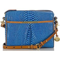 Brahmin Grayson Shoulder Bag ($295) ❤ liked on Polyvore