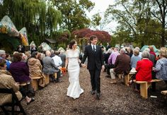 Wedding complete in Dragon Park. Courtesy Matt Andrews Photography.