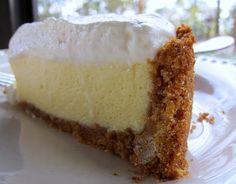 Lemon velvet cream pie - did someone say lemon?  Yum!