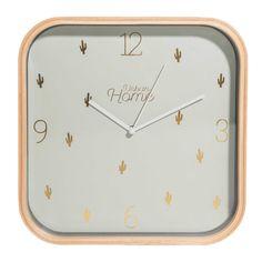 Reloj verde con motivos CACTUS