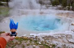 Yellowstone National Park - Trolls 'n Hot Water
