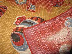 Stoff japanische Motive - Japanstoff, Verpackung, Tragebeutel, Stoff, KIND - ein Designerstück von nokimo-kimonos-kelims-webart-unikate bei DaWanda