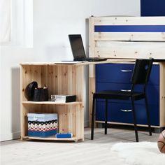 Thuka Trendy Swivel Desk that fits the Thuka Maxi and Thuka Trendy midsleeper beds.