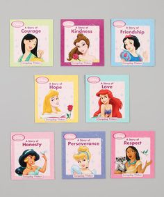Take a look at this Princess Virtues Paperback Set by Disney on #zulily today!