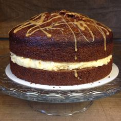 Our amazing caramel cake