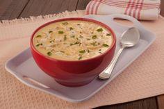 À procura de um delicioso acompanhamento para o seu almoço? Invista então nesse saboroso creme de milho com frango e palmito!