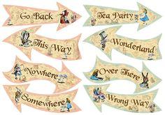 cards alice in wonderland - Pesquisa Google