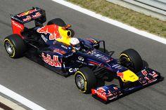 2012 GP Korei (Sebastian Vettel0 Red Bull RB8 - Renault
