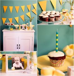 sweet birthday party over at the winthrop chronicles ... i love that chicken wire picture frame and all of the little details!