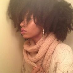 Kristel // 4B/C Natural Hair Style Icon