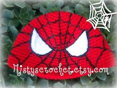Spider Beanie by Mistyscrochet on Etsy, $25.00