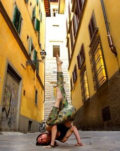 Yoga In Florence & Rome by Robert Sturman Florence Pictured: Shari L. Hochberg Loved and pinned by www.downdogboutique.com #Yoga