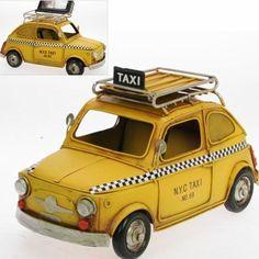 Spardose mit Bilderrahmen, New York City Taxi