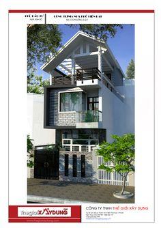 Mẫu thiết kế nhà phố hiện đại và cao cấp