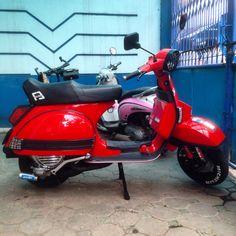 Vespa PX 150 yankee seat
