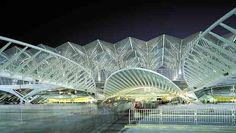 Oriente Railway Station, Santiago Calatrava