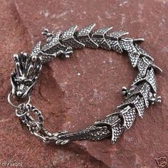 Tribal Tibetan Handcrafted Tibet Silver Dragon Bracelet