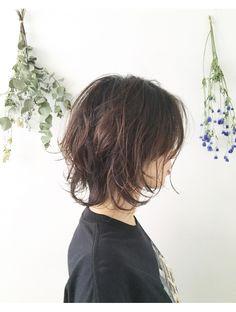グエンコ(Guenco) ソフトウルフ in 2020 Tomboy Hairstyles, Undercut Hairstyles, Pretty Hairstyles, Haircuts, Medium Hair Cuts, Short Hair Cuts, Shot Hair Styles, Long Hair Styles, Rocker Hair