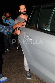 Shahid Kapoor & Mira Spotted On DINNER DATE At Hakassan Restaurant