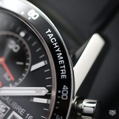 The tachymeter bezel of the TAG Heuer Calibre 16 Tachymeter Day-Date is used to compute distance and speed. This feature reinforces the TAG Heuer name as a world leader in luxury sports watches and chronographs.  #DontCrackUnderPressure #TAGHeuer #Tagheuercarrera #Tachymeter #Calibre16 #Watch #Reloj #Menstyle #Swissmade