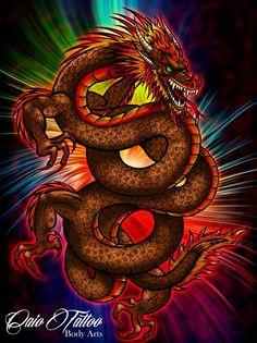 Arte a mão livre finalizado em nankim e colorido digitalmente.