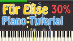 FÜR ELISE [Piano] [Tutorial] [VERY SLOW, Synthesia 30%]