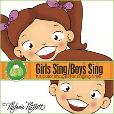 GIRLS Sing BOYS Sing   Downloadable File by GreenJelloWithCarrot