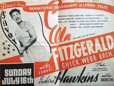 july New York, Ella Fitzgerald