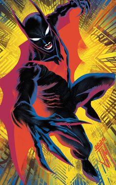 Comic Books Art, Comic Art, Book Art, Batman Universe, Comics Universe, Batman Beyond Terry, Batman Redesign, League Of Assassins, Univers Dc