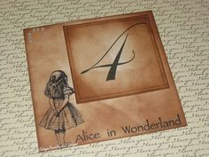 Vintage Style Alice in Wonderland Design by FrenchStyleEvents, $5.00