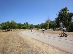 """ראש ציפור"""" - מסלול אופני כביש בפארק הירקון"""""""